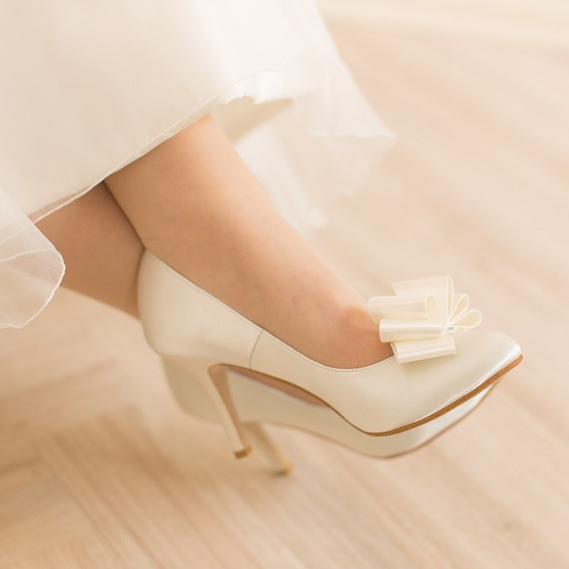Weddingshoes_8cmheel_ribbonset_C
