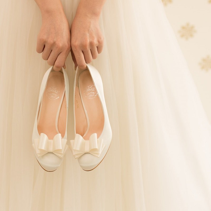 Weddingshoes_8cmheel_ribbonset_D